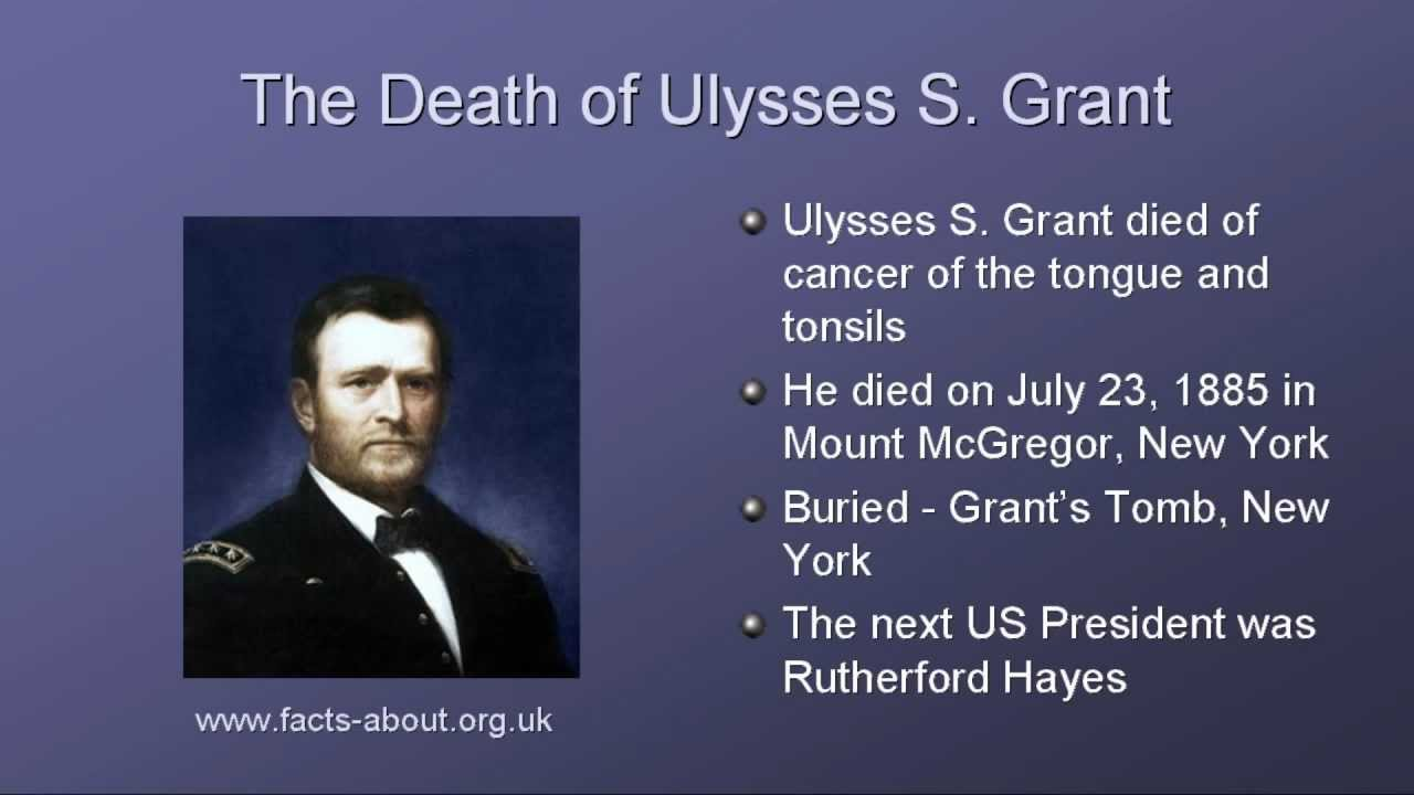 an overview of the presidency of ulysses s grant in the united states List of presidents of the united states william henry harrison's presidency was the shortest in american history ulysses s grant 1822–1885 (lived: 63 years.