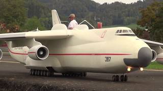HANS BÜHR RADIO CONTROLLED ANTONOV AN-225 AND BURAN SPACESHIP DECOUPLING SINGULAR