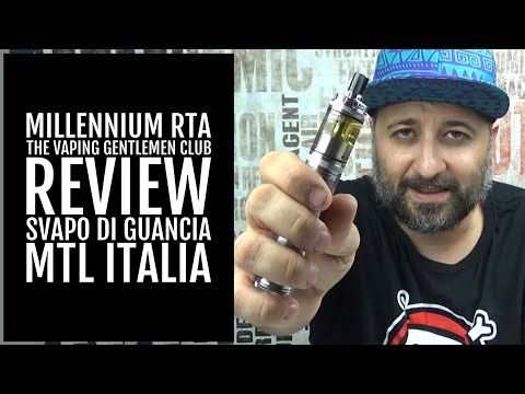 MILLENNIUM RTA - THE VAPING GENTLEMEN CLUB - REVIEW from YouTube · Duration:  23 minutes 18 seconds