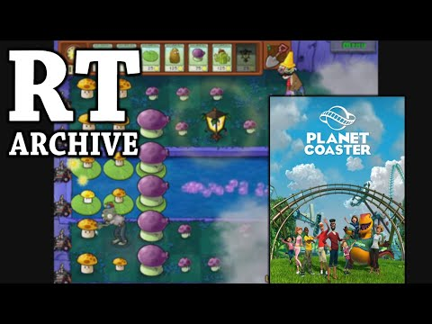 RTGame Archive:  Planet Coaster [PART 3] + Plants Vs. Zombies
