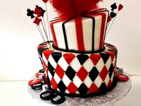 How to make cake Vegas theme birthday cake Pastry Palace of Las