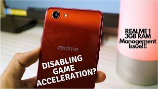 Realme 1 3GB RAM Management Issue | The TRUTH