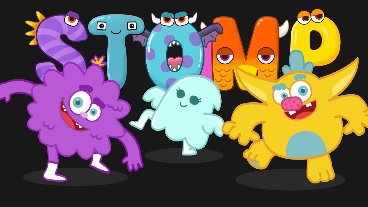 Clap your hands & Stomp your feet song with monsters