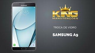 Assistência samsung como trocar só a tela vidro Samsung A9 a910