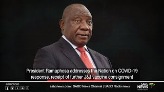 Download President Ramaphosa addresses the Nation on COVID-19 response