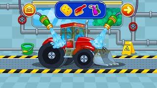 Let's Play • Myjnia Samochodowa • dla dzieci, Mycie pojazdów, auta, bajki, Gry dla dzieci