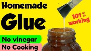 Homemade glue    how to make fevicol glue  homemade school glue  fevicol making at home  Sajal's Art