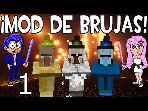 MOD DE BRUJAS EN MINECRAFT | ELEMENTAL WITCHES