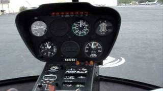 First Helicopter Training Flight - Robinson R22