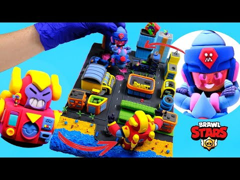 Ultra Driller Jacky Brawl Stars - The Summer of Monsters with clay