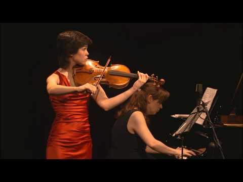 Isabel Villanueva plays Brahms Viola Sonata No.1 Op.120 (complete)