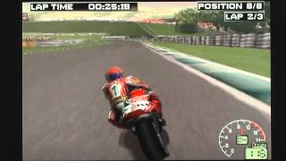 Superbike 2000 on PS1. Gameplay & Commentary.