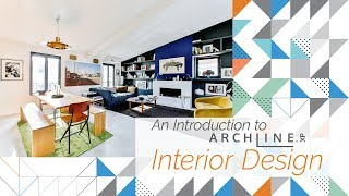 An Introduction to ARCHLine.XP Interior Design – Reception Room from Start to Finish