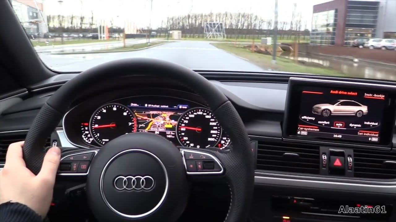 2017 Audi A6 Test Drive Youtube
