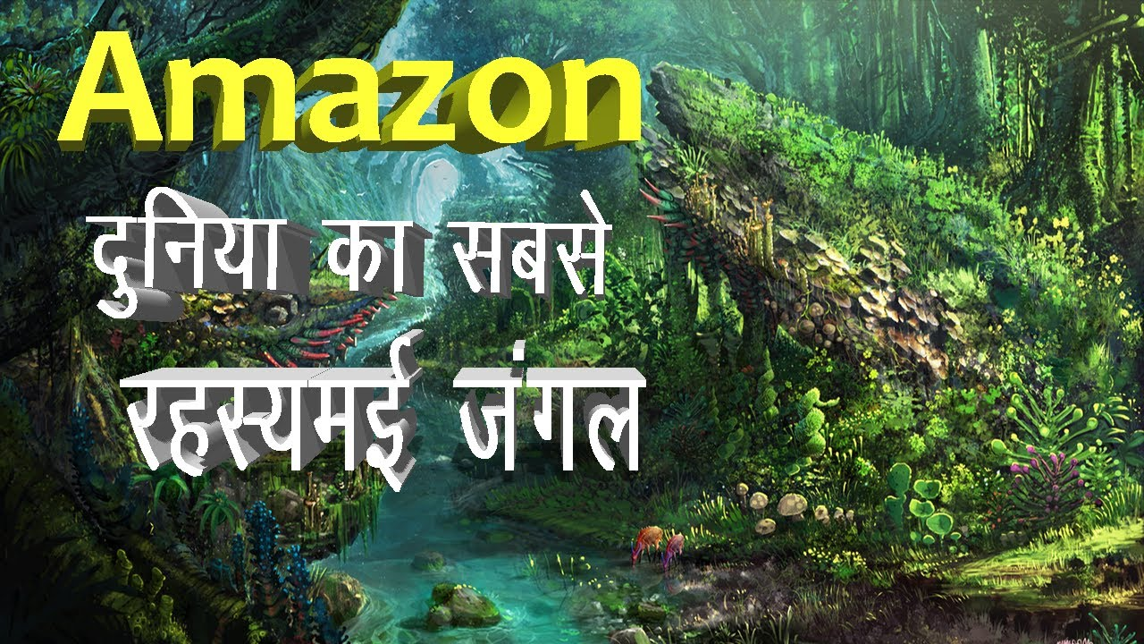 Facts About Amazon Jungle in Hindi   Largest Jungle in the World   Amazon Rainforest