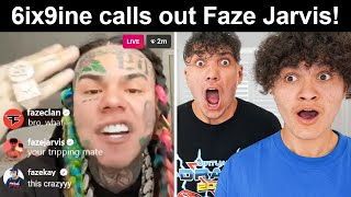 6ix9ine Calls Out FaZe Clan on Instagram Live