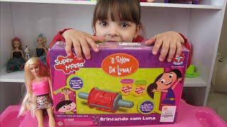 Brincando e Aprendendo com massinha O Show da Luna - Learn Play Doh