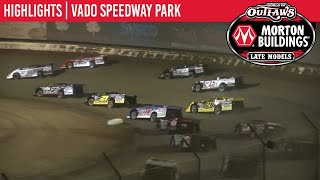 Highlights: World of Outlaws Morton Buildings Late Model Series @ Vado Speedway Park 1/4/20