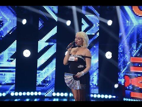 """Adele - """"Hello"""". Vezi aici cum cântă Natalia Ciobanu pe scena X Factor"""