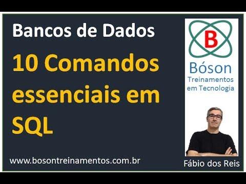 10 comandos essenciais em SQL para estudantes