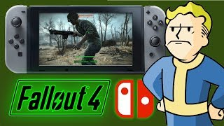 FALLOUT 4 on Nintendo Switch LOOKS LIKE THIS…