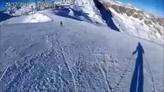 Sölden - Rettenbach Gletscher - Weltcup Abfahrt Piste 31 - Jelmer Wolters