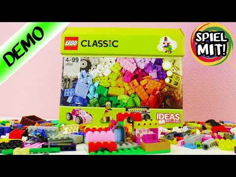 OLD SCHOOL LEGO CLASSIC - Box mit über 250 Teilen - Unboxing & Demo - KAANS ABSTRAKTE LEGO KUNST