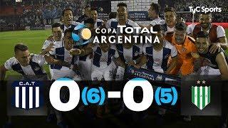 Talleres 0 (6) - 0 (5) Banfield | 16avos de Final | Copa Argentina 2019
