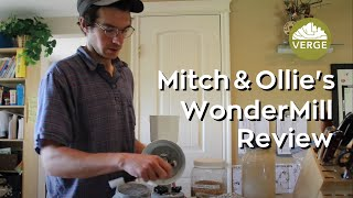 WonderMill Demo & Review - Our Grain Mill for Home-Scale Bread Making