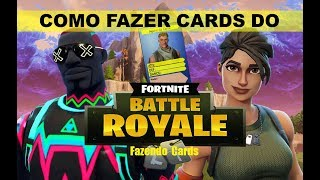 How to make Fortnite Cards