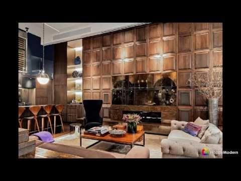 60+ видов стеновых панелей для внутренней отделки - формы, текстуры, материалы