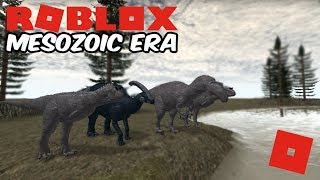 Roblox Mesozoic Era - This New Dino Game Is Awesome!