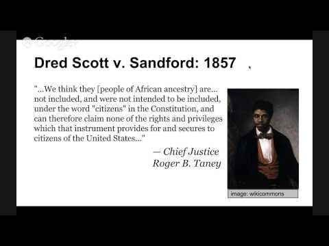 An introduction to the case scott versus sanford in 1857 of the united states supreme court
