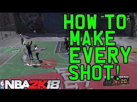 NBA 2K18: How To Make Every Shot! How To Shoot! Shot Meter Tutorial!