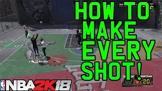 NBA 2K18 How To Make Every Shot How To Shoot Shot Meter Tutorial