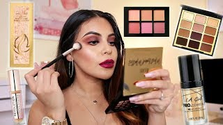 DRUGSTORE FALL MAKEUP TUTORIAL: SMOKEY EYES + BERRY LIPS | JuicyJas