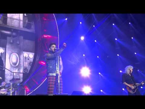Queen Adam Lambert Live Berlin Radio Gaga