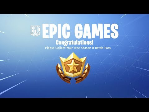 How To Get The Free SEASON 8 Battle Pass Reward..