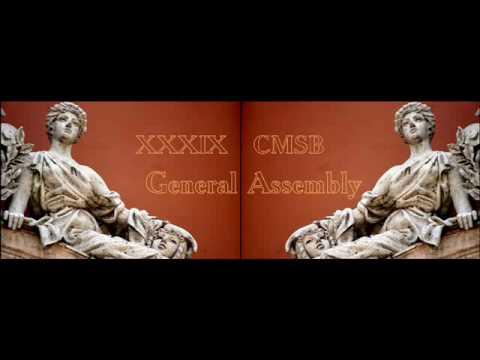 XXXIX CMSB General Assembly