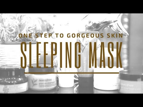 sleeping mask innisfree | ERICA FERNANDES