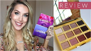 Tartelette 2 In Bloom Palette REVIEW + SWATCHES + COMPARISON