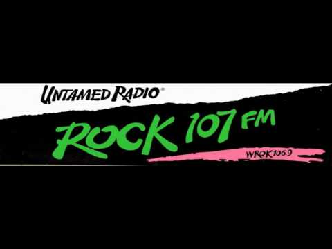 Rick Allen and R.E.M. Rock 107 WRQK 106.9 Canton, Ohio 1991 Radio Aircheck