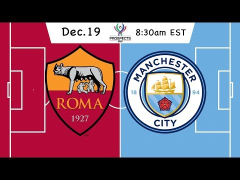 Prospects Cup: AS Roma vs. Manchester City