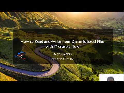 How to Read and Write from Dynamic Excel Files with Microsoft Flow