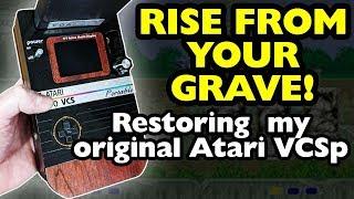 Original Atari 2600 VCS Portable Refurbishment