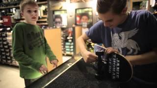 Ryan's First Skateboard From Zumiez!