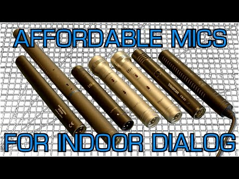 Affordable Microphones for Indoor Dialog