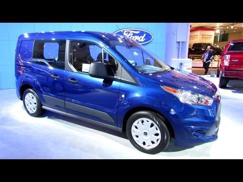 2014 Ford Transit Connect XLT - Exterior Walkaround - 2013 New York Auto Show