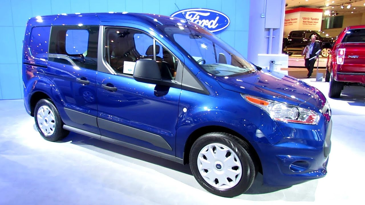 2014 ford transit connect xlt exterior walkaround 2013 new york auto show