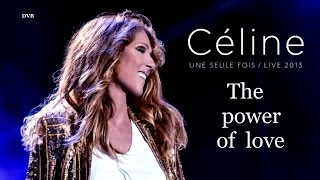 Celine Dion - The Power Of Love. HD
